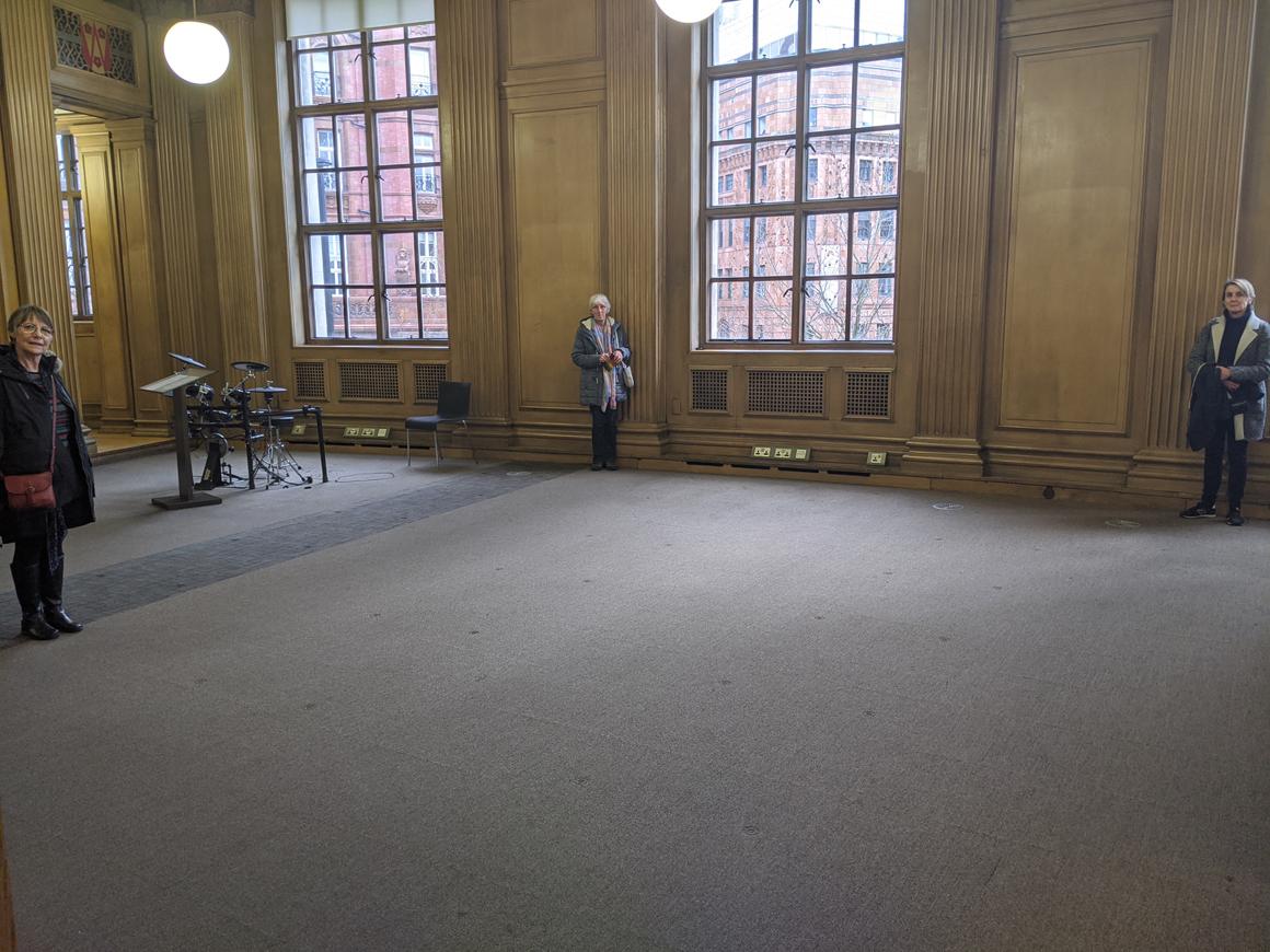 Women, Library, Dance, Manchester